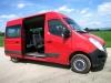 Doprava osôb 9. miestnym mikrobusom Renault Master