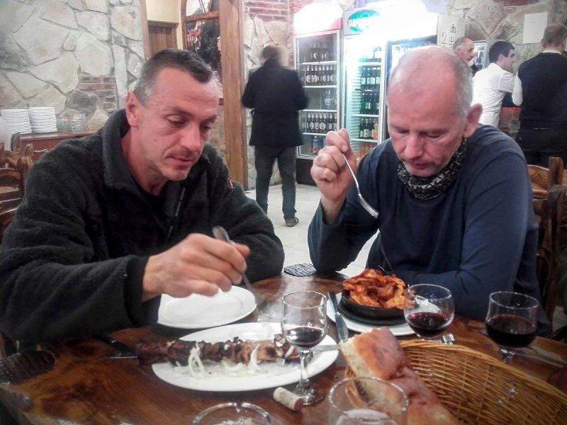 Reštaurácia v centre Kutaisi