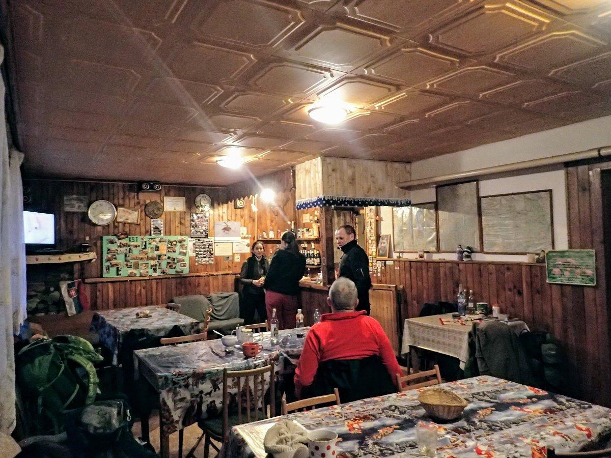 Pohronský Inovec - chata pod Inovcom