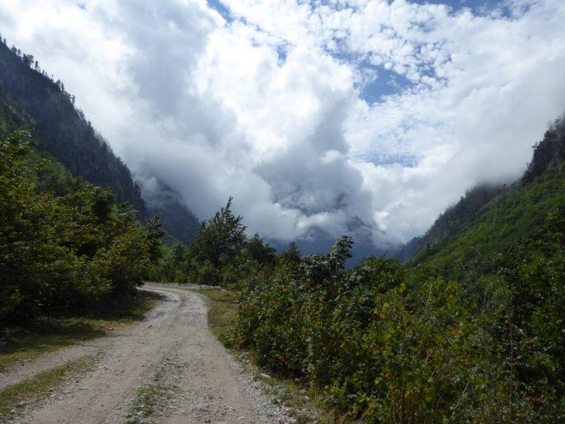 Albánsko - národný park Thethi a dolina Valbona