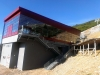 Nové provizórne drevené schodisko na chatu Kosodrevina