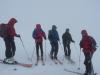 S lyžami na Hoverlu